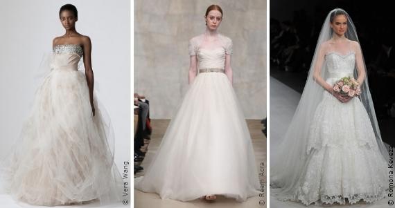Wahl des Brautkleides: Das Cinderella Kleid, Die Silhouetten ...