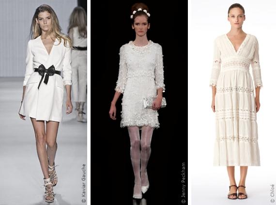 Wahl Des Brautkleides Das Langarmkleid Die Silhouetten Modetrends