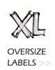 Oversize Labels