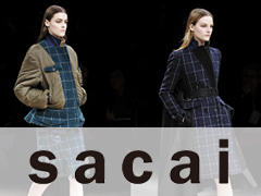 Modelabel Sacai Paris Herbst Winter 2013/14