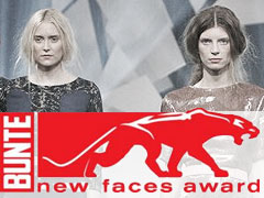BUNTE new faces award fashion